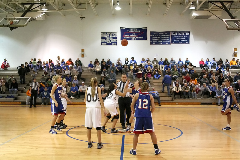 Station Camp High School Bison Women vs. Macon County Tigerettes - Nera White Tournament - Opening Round - Part 1