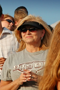 Bison mom glad to see her warriors return home