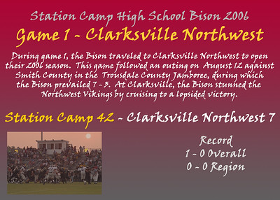 Game 1 - Clarksville Northwest