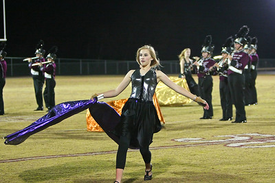 Thundering Herd performer spins her web of color