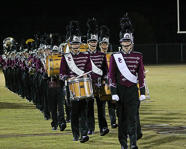 Precision marching onto the field