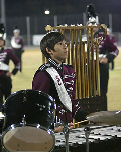 Bison percussionist adds a little melody to the rhythym