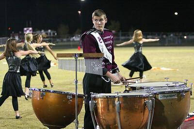 Herd percussionist is adept at multitasking