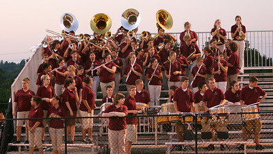 Band fires up the Bison crowd