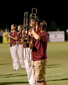 Trombones at the ready