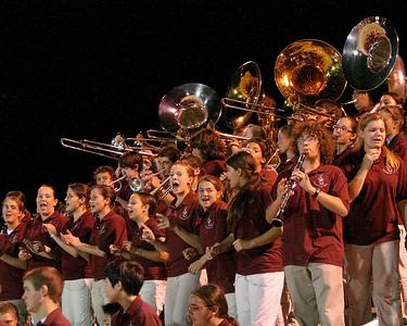 Band entertains Bison faithful