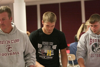 Coach Scho paves the way for Seniors Jacob Barker and Chuck Lilly