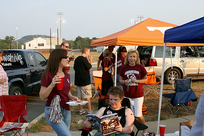 Tailgating on the East Bank
