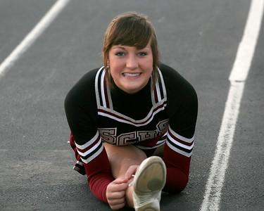 Kaylyn Landry shows her Bison flexibility