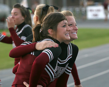 Kaylyn Landry and Susannah Van Hooser pose for the crowd