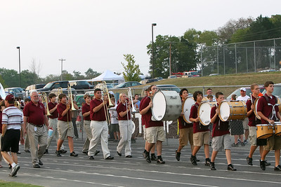 And the band comes marching in