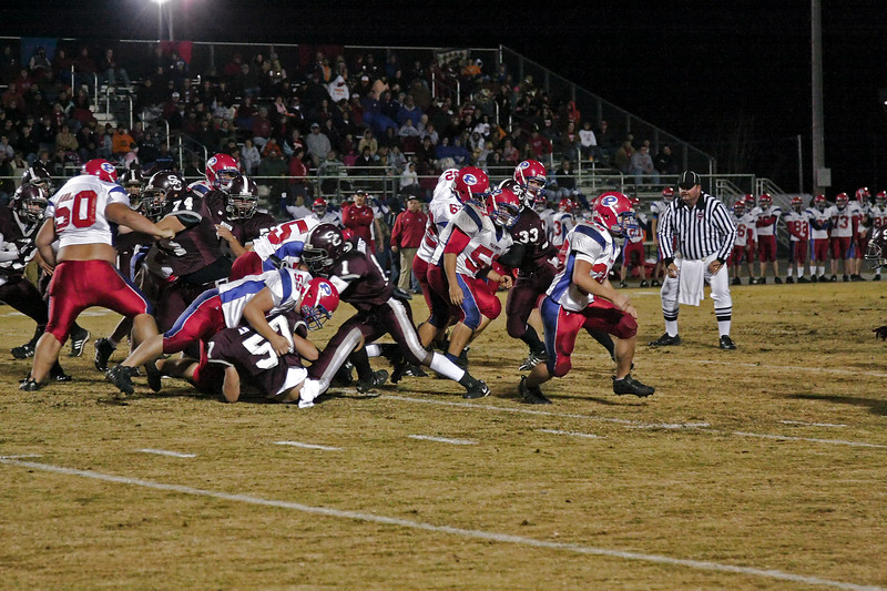 2008 TSSAA Playoffs - Round 1 - Station Camp vs. Polk County - W - 14 - 7 - Overall Record 8 - 3, Playoffs 1 - 0 - Part 4