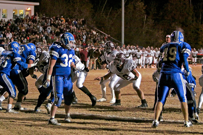 2008 TSSAA Playoffs - Round 3 - Station Camp at White House - L - 35 - 12 - Overall Record 9 - 4, Playoffs 2 - 1 - Season End - Part 2