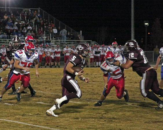 2008 TSSAA Playoffs - Round 1 - Station Camp vs. Polk County - W - 14 - 7 - Overall Record 8 - 3, Playoffs 1 - 0 - Part 3