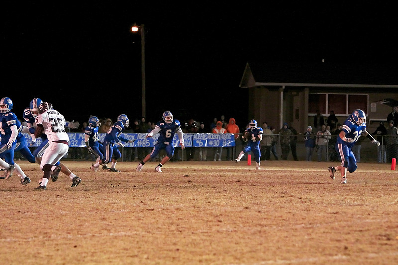 2008 TSSAA Playoffs - Round 3 - Station Camp at White House - L - 35 - 12 - Overall Record 9 - 4, Playoffs 2 - 1 - Season End - Part 3