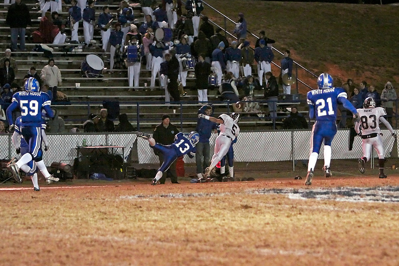 2008 TSSAA Playoffs - Round 3 - Station Camp at White House - L - 35 - 12 - Overall Record 9 - 4, Playoffs 2 - 1 - Season End - Part 4