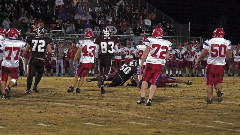 2008 TSSAA Playoffs - Round 1 - Station Camp vs. Polk County - W - 14 - 7 - Overall Record 8 - 3, Playoffs 1 - 0 - Part 2