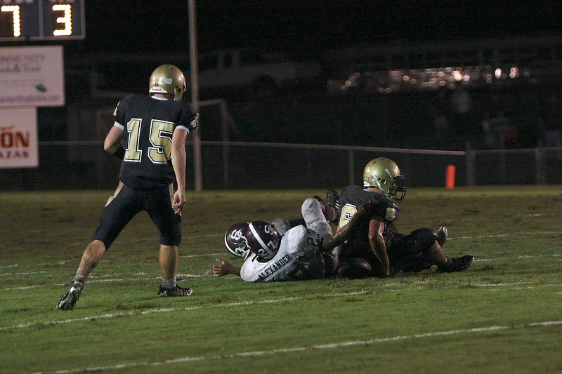 Station Camp Bison at Sycamore War Eagles - Week 2 Game 3 - W 28 - 13 - Record 2 - 1, 1 - 0 Region - Part 4