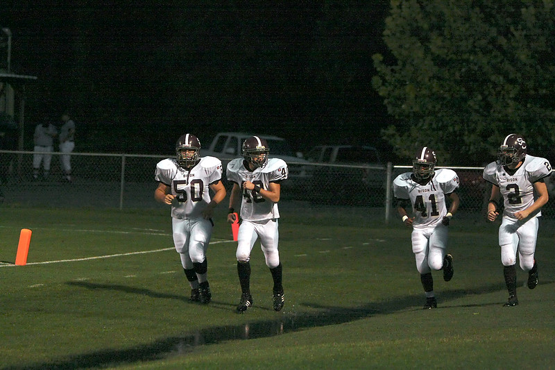 Station Camp Bison at Sycamore War Eagles - Week 2 Game 3 - W 28 - 13 - Record 2 - 1, 1 - 0 Region - Part 1