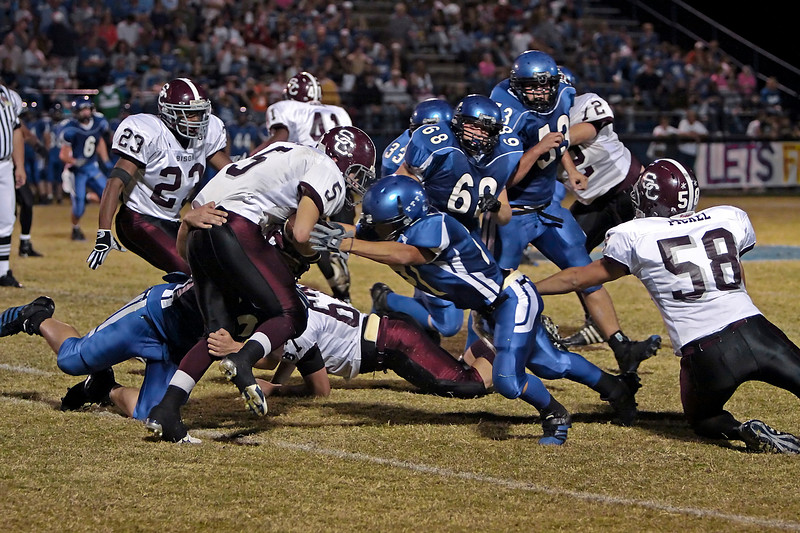 Station Camp Bison at Macon County - W - 28 - 0 - Record 6 - 2, Region 4 - 0 - Part 2