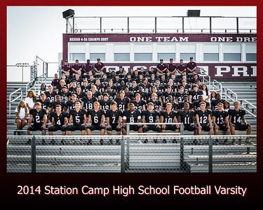 Station Camp Varsity Football 2014