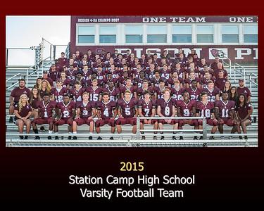 Station Camp Varsity Football 2015