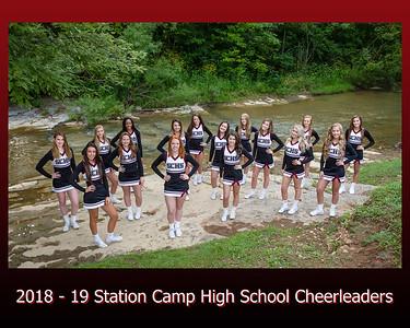 2018 -  19 Cheerleaders