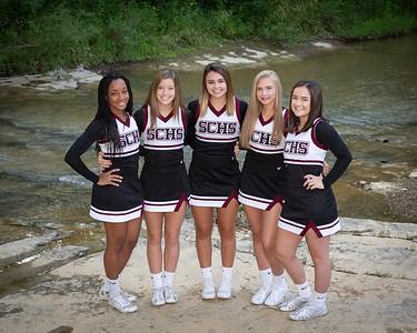 Sophomore Cheerleaders