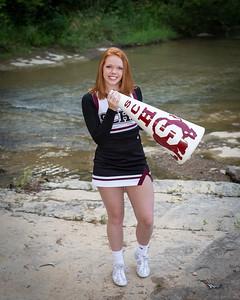 Senior Cheerleader - Merideth Brinkley