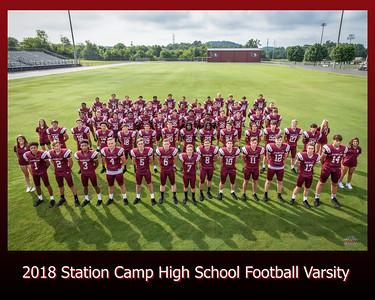 2018 Station Camp Football Varsity 8 x 10