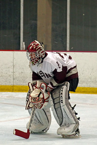 Bison goalie ready for whatever comes his way