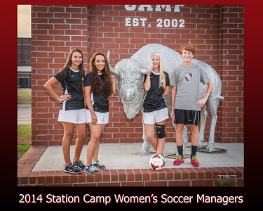 Station Camp Soccer Team Managers
