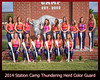 Station Camp Thundering Herd Color Guard