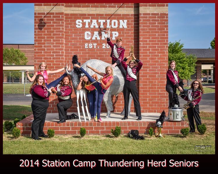 Station Camp Thundering Herd Seniors 2015