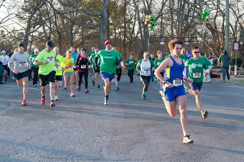 2014 Gallatin Shamrock 5K and 1 Mile Fun Run - March 15, 2014
