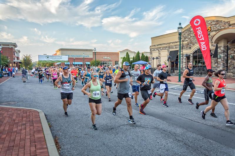 Hendersonville Half Marathon - September 16, 2017