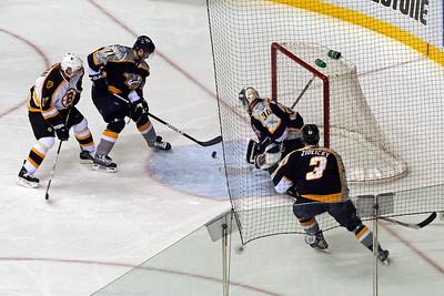 Bruins shot gets close, but no cigar