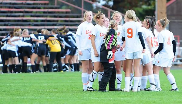 AHS Girls Varsity Soccer vs Central HS 10-13-2009