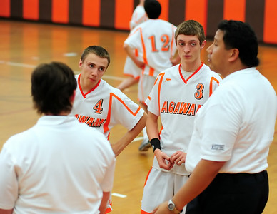 AHS Varsity Vball vs West Side 4-8-2010