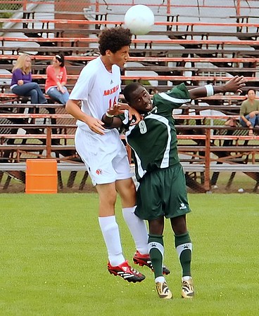 AgawamBoys Varsity Soccer vs Minnechaug 9-19-09