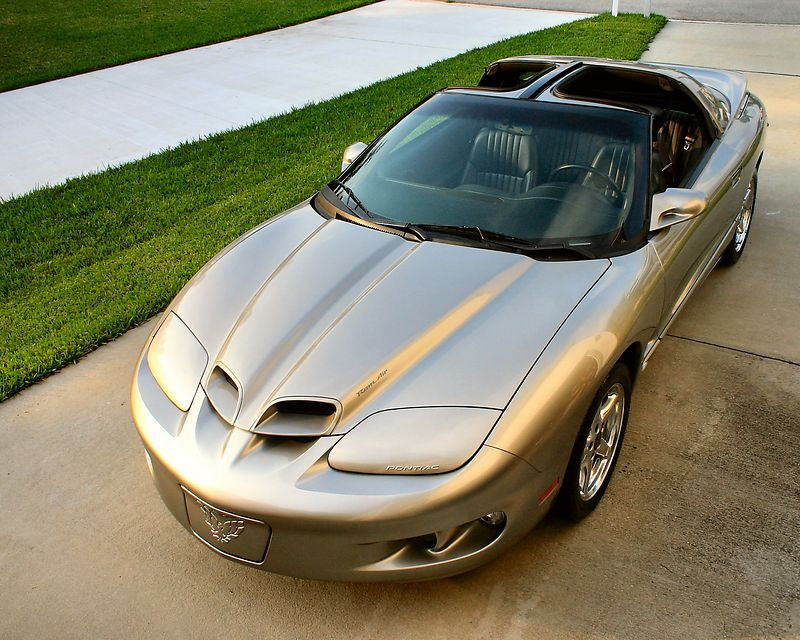 This is my car.  A 2000 Pontiac Firebird Formula WS6.    Between 1998 and 2000 there were just over 600 of this model produced by GM's Pontiac division with 232 being produced in the final production year of 2000.  Of the 232 WS6 Formulas manufactured in 2000, 45 were made in Pewter which makes this a fairly rare bird.  <br /> <br /> In 2002, GM ceased production on all Firebirds and Camaros which happens to be about the time I stumbled across this car on a used car lot, incorrectly labled as a 'Trans-Am'.   If you stop by my house for a visit - I will take you for a ride and you will walk away smiling...if you don't lose your lunch.... :)