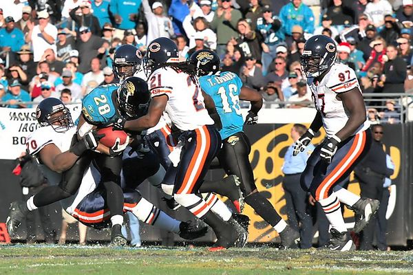 Fred Taylor was hard to stop.