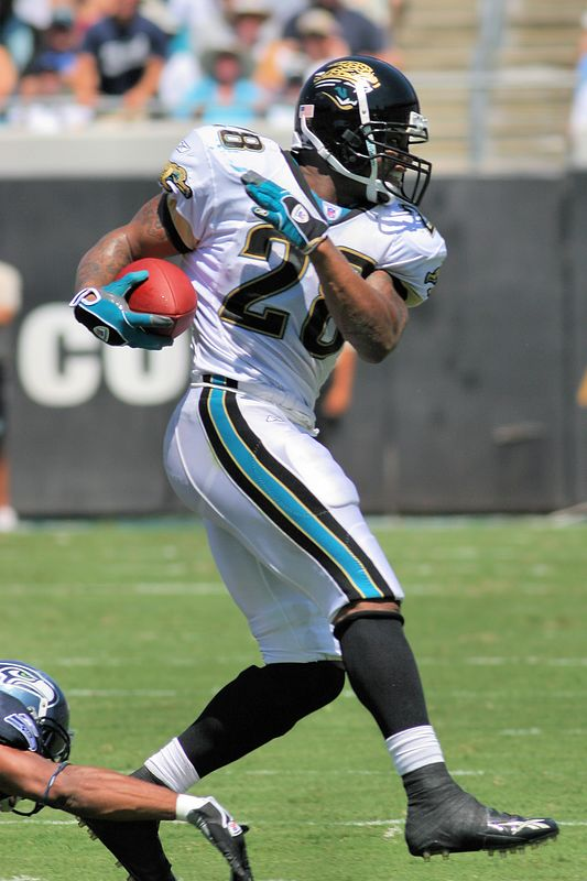 Jacksonville running back, Fred Taylor, ran for 76 yards and caught two passes for a total of 14 yards.  One of the team leaders, his performance this season will play a key role in how successful the Jaguars are on offense.