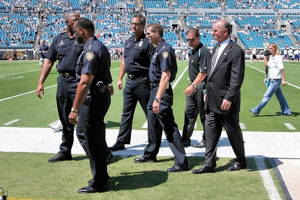 Wayne Weaver, owner of the Jacksonville Jaguars.
