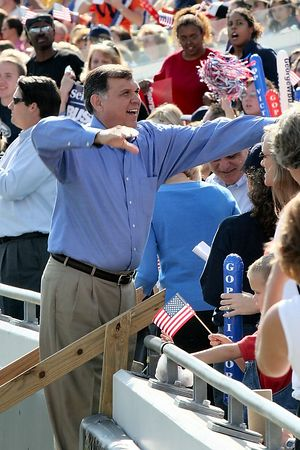 Mel Martinez...who will be the Senator from Florida in a short time.