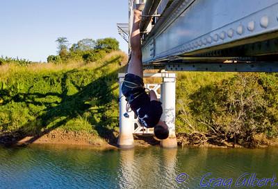 Bridge Swinging.