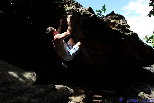 Bouldering and Top Ropeing
