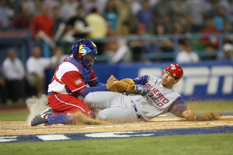 Cuba V Puerto Rico  World Baseball Cup