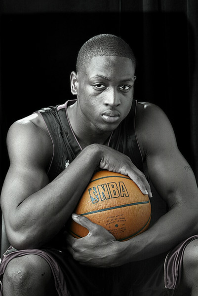 Dwyane Wade  Rookie shoot