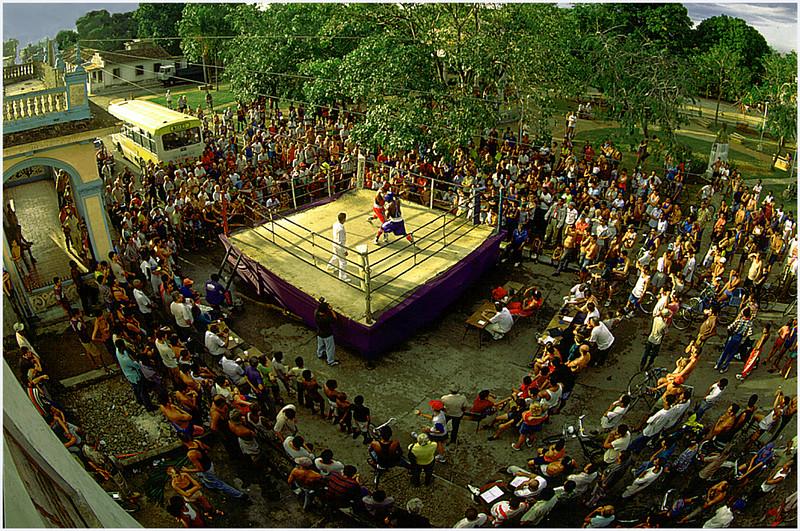 Boxing in Santiago  Cuba